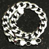 Curb 250-8 10mm Heavy 22 Gram .925 Sterling Silver Bracelet 8 on sale