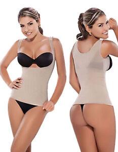 Diane-2410-Faja-colombianas-de-mujer-de-controle-de-puissance-corriger-votre-Posture-top-gilet