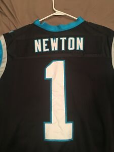 Hot Carolina Panthers Home Jersey Cam Newton Nike Elite. | eBay  supplier