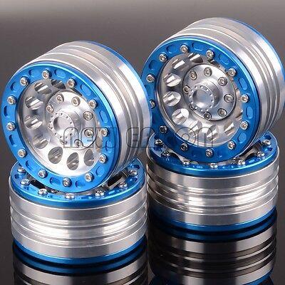 "RC 1.9"" Beadlock Aluminum Wheel Rim 1060SBS For 1/10 Rock Crawler Axial SCX10"