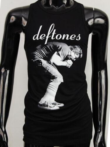 Nouveau les Deftones Noir Chino Débardeurs TSHIRT T SHIRT T-shirt Femmes Femme S-L