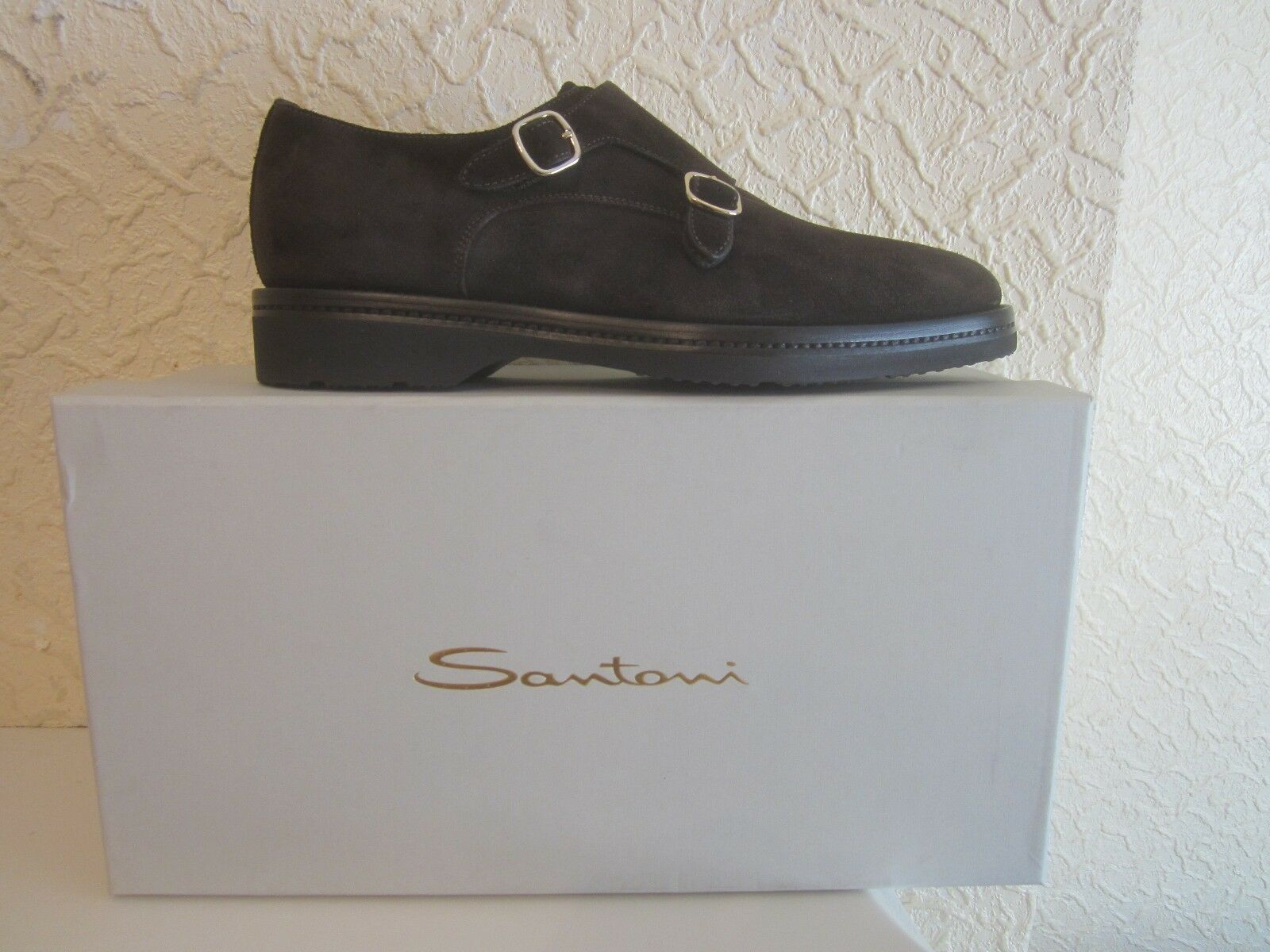 Santoni Kenneth MONACO cinghie Uomini Double's scarpe