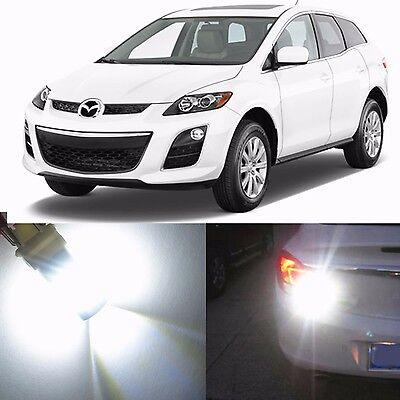 Alla Lighting License Plate Light 2825L Super White LED Bulbs for Mazda Tribute