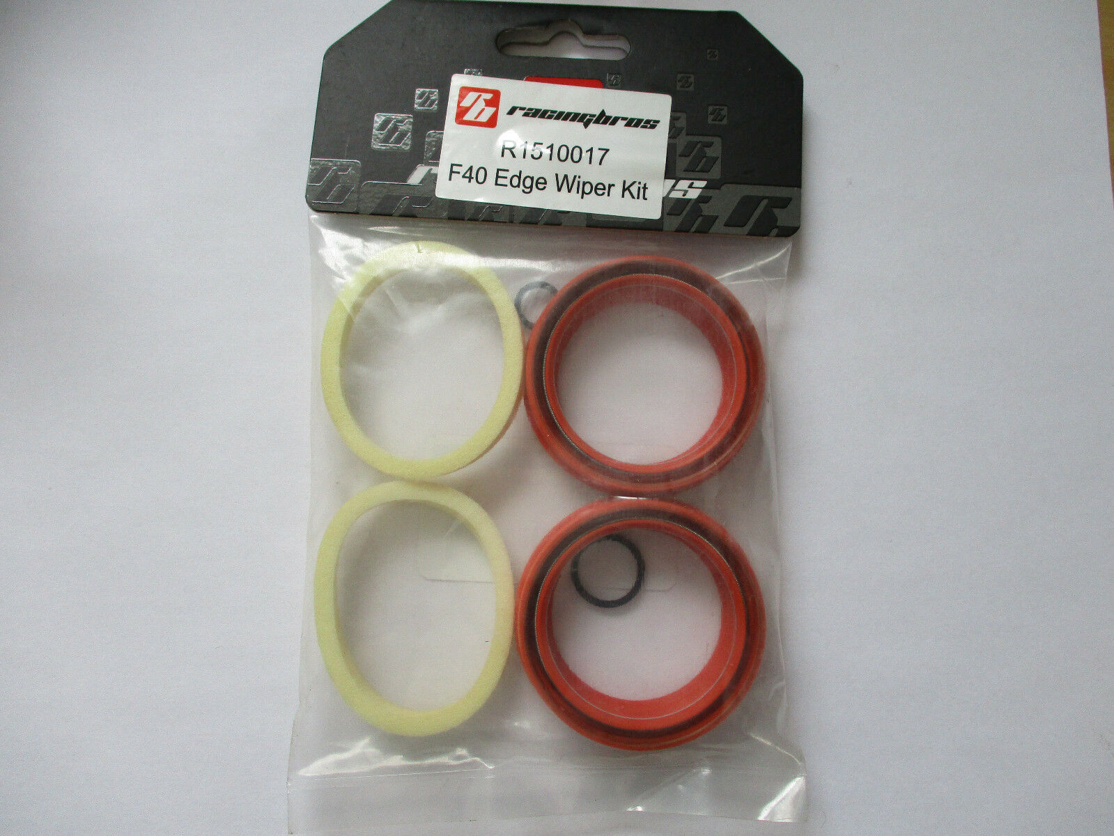New Racingbros Dust Seal Foam Ring Kit Lycan Edge Wiper Red for FOX Fork 40mm