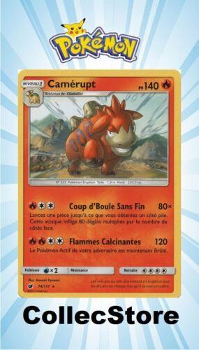 SL4 Invasion Carmin ☺ Carte Pokémon Camérupt 14//111 VF NEUVE