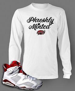 66188de4a293 T Shirt to Match AIR JORDAN 6 ALTERNATE Graphic Pro Club Long Sleeve ...