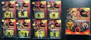 Mortal Kombat Gi Joe Collection de figurines d'action Lot Sous Zéro Scorpion Raiden Etc.