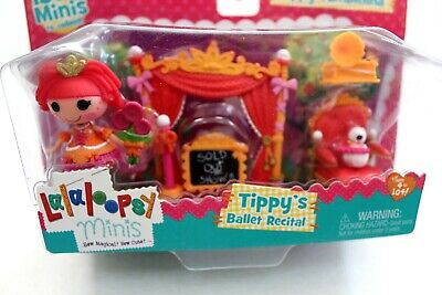 Mini Lalaloopsy Tippy's Ballet Recital Playset Ballerina Tippy Tumbelina New
