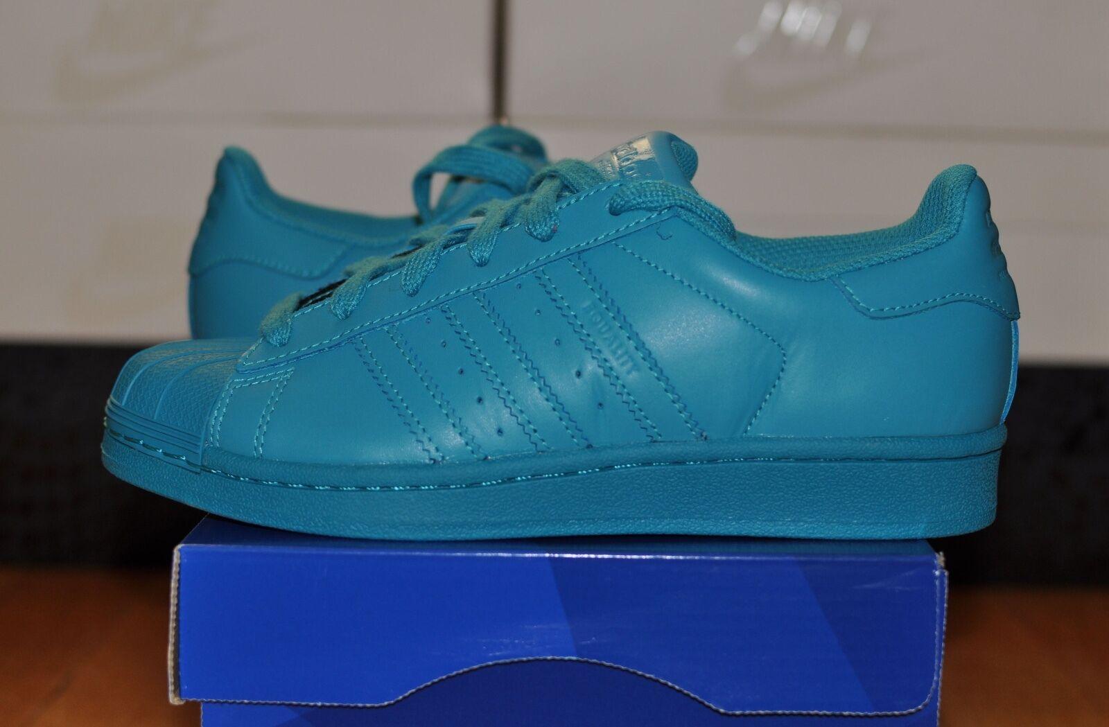 Adidas Pharrell Williams Superstar Supercolor Lab Green S41835 RUN DMC 4.5 9