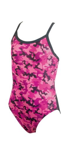 "Purple Swimsuit 26/"" 6 years Zoggs Girl/'s Camo Racerback Pink"