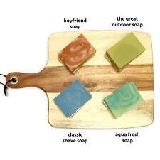 Christmas Gift Natural Handmade Soap x4 choose any fragnance