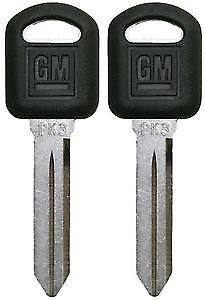 PK3 Small Hd Transponder Key GM LOGO X2 Chevrolet B97 690552
