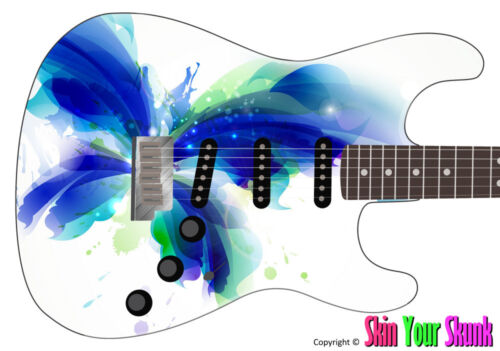 Splash Guitar Skin by SkinYourSkunk Style or Shape Guitar Fits Any Size