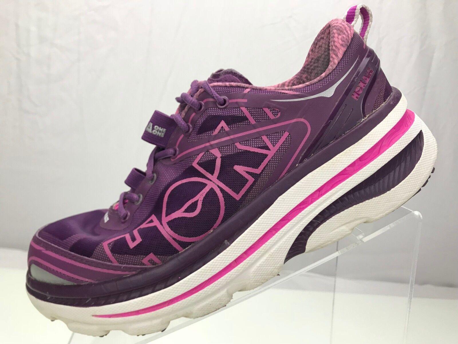 Hoka One One Bondi 3 - Running Training Athletic Turnschuhe Turnschuhe Turnschuhe damen's 8 lila Rosa 4cfd68