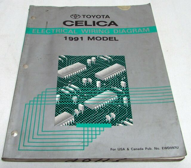 Toyota Previa Repair Manual Electrical Wiring Diagram 1991 ...