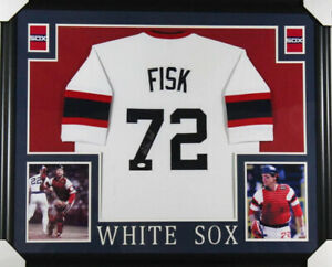 19daa0dd2 Carlton Fisk Signed Chicago White Sox 35