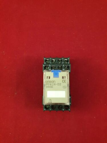MY4IN-D2 Omron Relay /& Socket 24 Volt