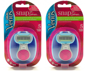 Gillette-Venus-Snap-Razor-with-Embrace-Refill-Blade-2-Pack