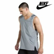 Nike Tech Pack Sleeveless Training Shirt Tank Top Ar0198 043 Men's Small Grey