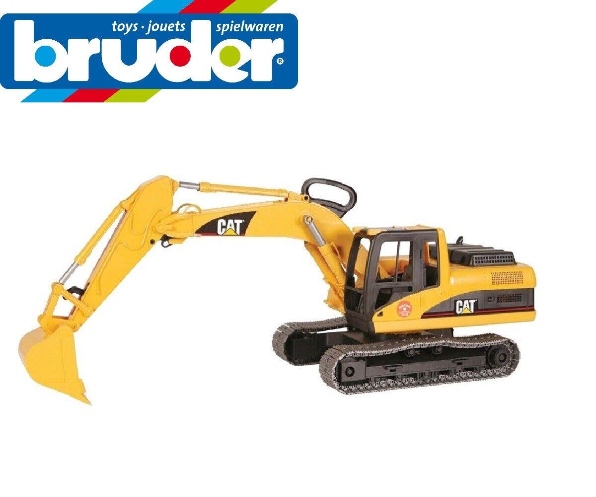 Bruder Caterpillar Excavatrice Digger échelle 1 16 Enfants Jouet Modèle CAT 02438