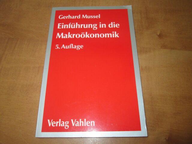 Einführung in die Makroökonomik von Gerhard Mussel (5.Auflage) / #p66