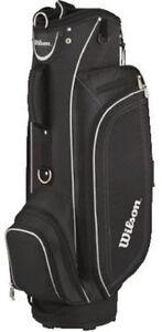 2011-Wilson-Staff-Profile-Lite-Golf-Cart-Bag-Black-Brand-New-80-Retail