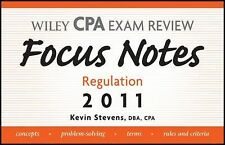 Wiley CPA Examination Review Focus Notes: Regulation 2011