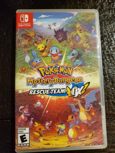 Pokémon Mystery Dungeon: Rescue Team DX -- Standard Edition Complete