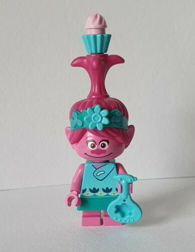 New from 41251 Lego Trolls World Tour Poppy with cupcake and swirl  twt009