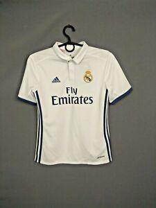 Real Madrid Jersey 2016 2017 Home Kids11-12 Boys Camiseta  Adidas AI5189 ig93