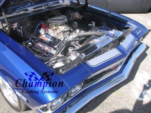 1968 1969 1970 1971 1972 1973 1974 1975-77 Chevelle 3 Core WR Radiator