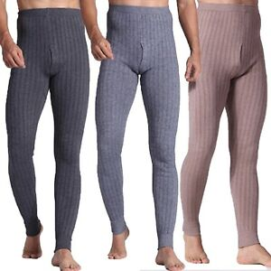 mens-Womens-Leggings-Wool-blends-Thermal-Warm-Winter-pants-Cashmere-Trousers