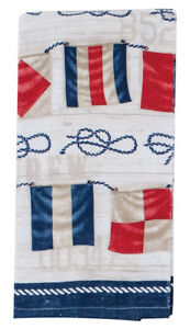 Terry Cloth Kitchen Towels.Details About Kay Dee Designs Nautical Flags Cotton Terry Cloth Kitchen Towel