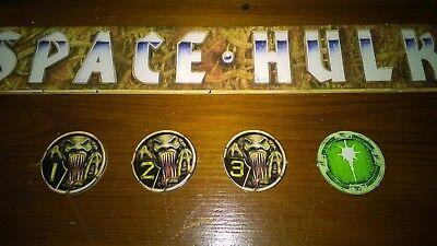 Space Hulk 2nd Edition Blip 3 Counter Token Price Each