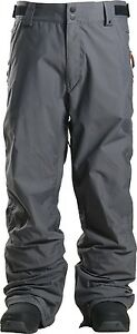2016-NWT-MENS-THIRTYTWO-MUIR-SNOW-PANTS-grey-regular-fit-10k-waterproofing
