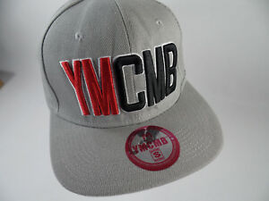 5ee196ac06f Official YMCMB Snapback Grey Gray Hat Cap Young Money Cash Money ...