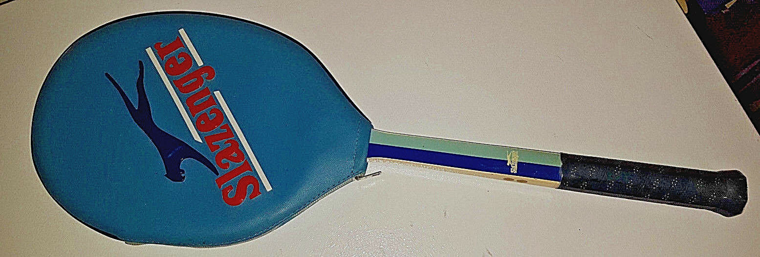 Vintage Slazenger  The Lady Slazenger  Tennis Racquet with Cover. Nearly Unused.