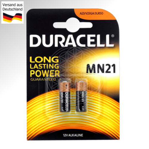 10 Duracell 12V Alkaline Security Batterien MN21 LRV08 A23 L1028 LR 23 A23S MS21