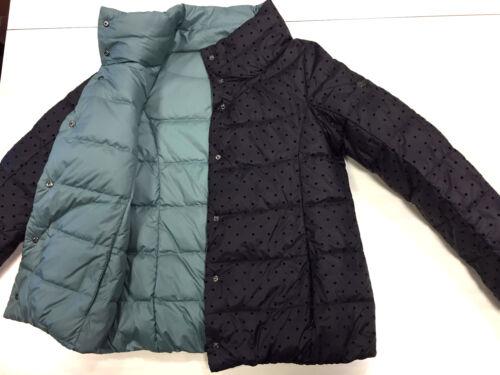 Down Varm kvalitet Soft Blazer Giacca Italien Coat L Jacket Top F32 M Reversible gF8qH