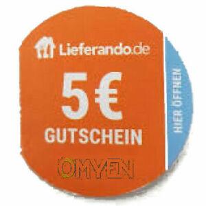 Lieferando Gutschein 5€