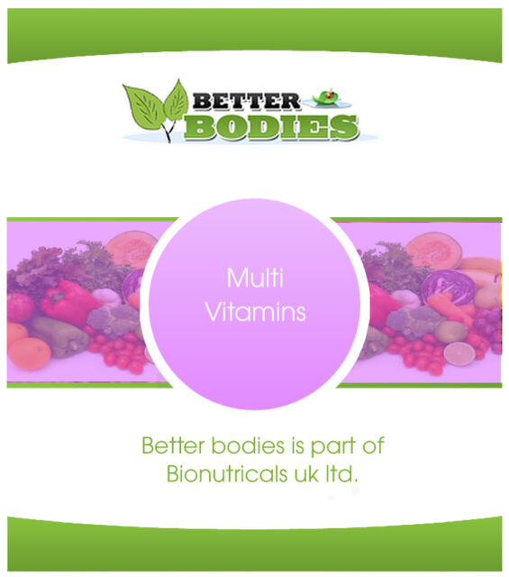 HIGH Quality Multi Vitamins & Mineral Support Aid Weight Loss Diet Vitamin A B C