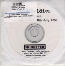 (AZ644) Tin Soldiers, 24 Hours - DJ CD