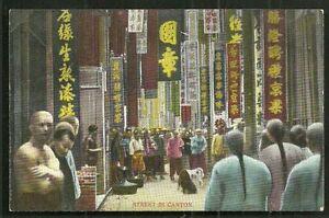 Canton-Guangzhou-People-Street-Guandong-China-ca-1910