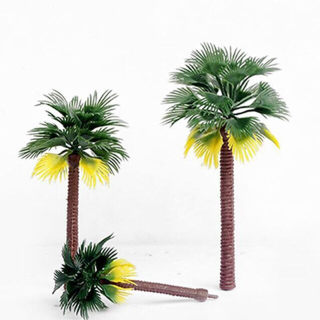 20x Mini Plastic Coconut Palm Tree Plant Bonsai Craft Micro Landscape Decor For Sale Online Ebay