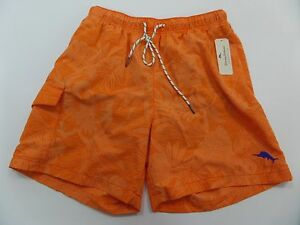 8140275f98 New Tommy Bahama Naples Coral Floral Swim Trunks Shorts Mens Size ...