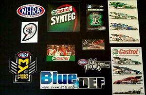 3/'/' or 5/'/' Castrol Nascar Racing Car Bumper Sticker Decal