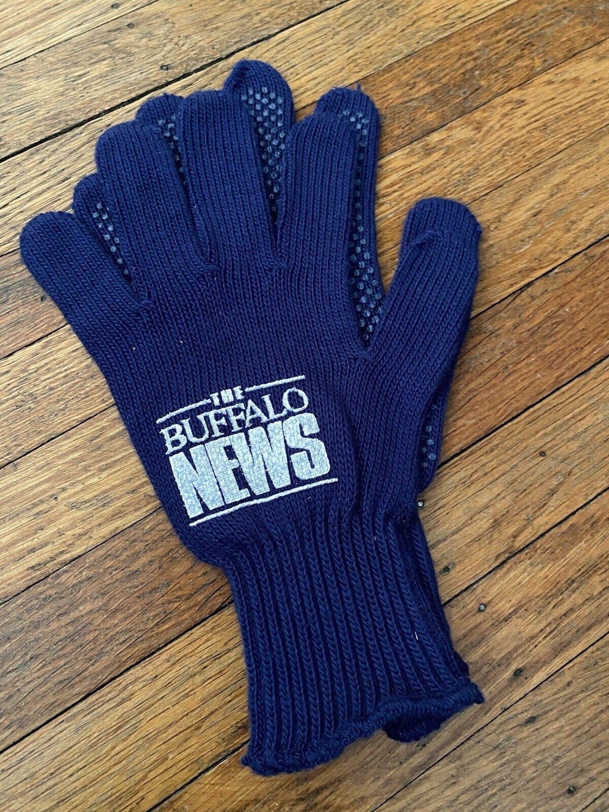 Vintage The Buffalo News Gloves - Buffalo, New York - Deadstock 1990s