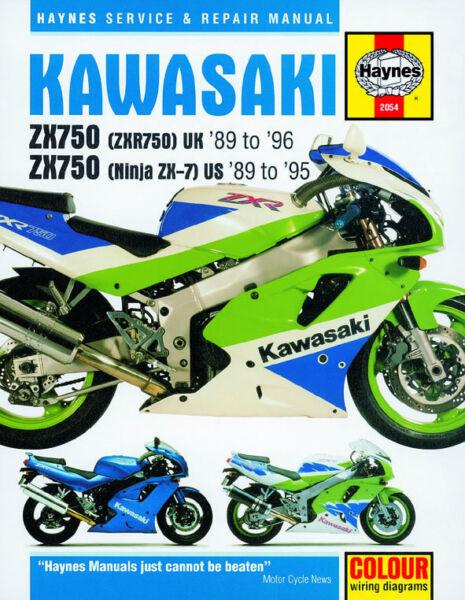 Details about 1989-1995 Kawasaki Ninja 750 ZX 7 ZX7 ZX750 ZX7R HAYNES on