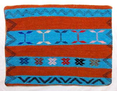 ANTIQUE CUSHION COVER FROM MARRAKESH HAND MADE FAIR TRADE MOROCCAN VINTAGE