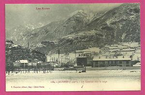 CPA-04-JAUSIERS-Los-cuarteles-bajo-la-nieve